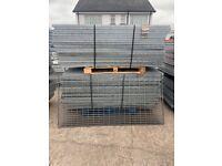 Used Galvanised Walkway - 2m x 1m