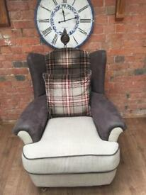 Lovely wingback armchair