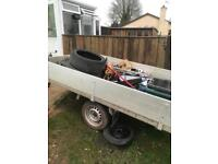 Anssems drop side trailer 8.5ft x5ft