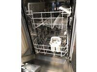 Ikea whirlpool slimline integrated dishwasher