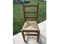 4 Kitchen, Office or Bedroom ladder back Chairs
