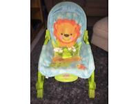 Fisher-price newborn to toddler rocker seat
