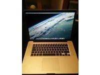 "Macbook Pro 15.4"" Retina Display, 2.2Ghz Intel i7 Processor. 16 GB RAM (Mid 2014) Used, No Damage."
