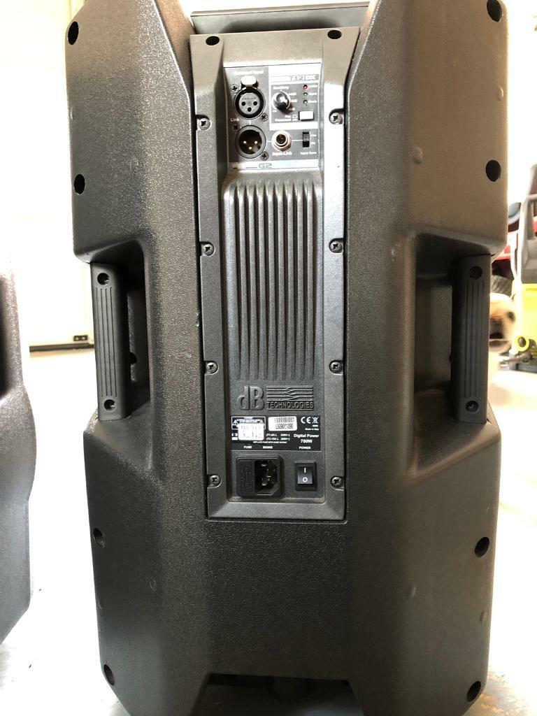 Db technologies 700w Powered PA speakers pair | in Armadale, West Lothian |  Gumtree