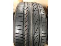 1X 255 35 18 Bridgestone RunFlat tyre