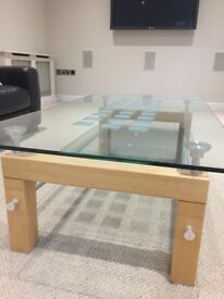 Modern matching coffee table and side table