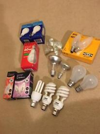 Assortment of light bulbs *FREE*