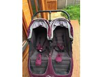 Very good condition Babyjogger double pushchair