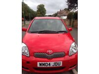 Toyota Yaris 1.3l Automatic T- Spirit 2004 5 door hatchback Red £1695 ono * 1 Lady Owner* FSH