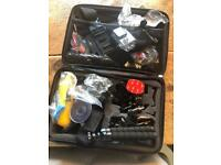 Camera accessories case (lots of adapters waterproof) GoPro