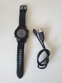 Garmin Fenix 5s Sapphire Watch in Black