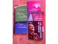 GCSE English books