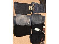 Men's jeans 32 waist designer diesel top man jack jones Levi
