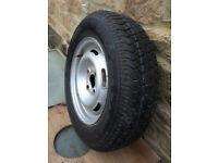 165R13 wheel &tyre
