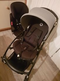 Genuine black frame bugaboo bee3
