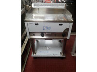 RM GASTRO Griddle 2 burner Nat Gas With Stand
