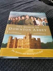 Downton Abbey hard back book