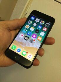 iPhone 7 Matt black 32gb on Vodafone