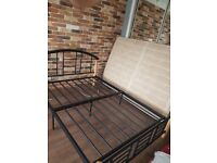 BED FRAME - THREE MONTHS OLD - GREAT CONDITION