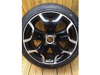Spare Citroen DS3 alloy and brand new tyre