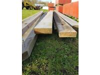 """9"""" x 3"""" timber purlins (reclaimed)"""