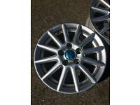 14'' Volkswagen BBS Golf alloys x 2 without tyres 5x100 PCD