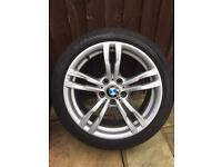 """BMW F31 18"""" Alloys & Bridgestone Potenza Run Flats 6mm all round"""