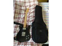 Fender Classic 72 Telecaster Deluxe in black with gig bag