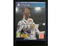 Ps4 Fifa 18 Brand new and sealed