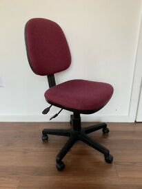 Swivel Desk Chair Red