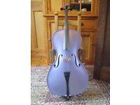 Full-size Zeller cello in purple