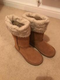Next ugg style boots never worn size 12