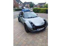 Smart Roadster with Brabus Wheels and Janspeed Exhaust