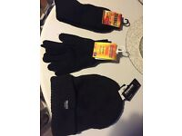 Hats, gloves, socks thermal set