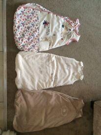 3 baby sleeping bags