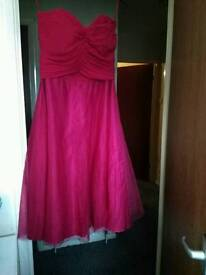 Size 14 pink monsoon cocktail dress