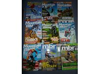9 mountain bike magazines -various publications from 2003 to 2006