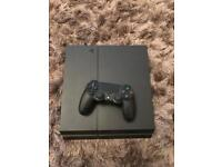 MATTE PS4 1TB IMMACULATE CONDITION FULLY WORKING + ALL WIRES + OFFICIAL WIRELESS CONTROLLER