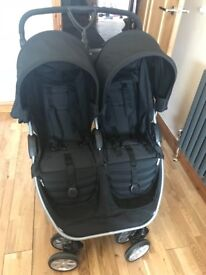 Britax B-agile Black pushchair. Very good condition only used a few months.
