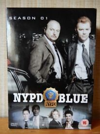 NYPD Blue - Series 1 - Complete (DVD, 2003, 6-Disc Box Set)