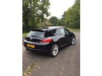 Black VW Scirocco 2009 - eye catching number plate
