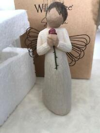 """New """"Loving Angel"""" by Willow Tree ornament/figurine"""