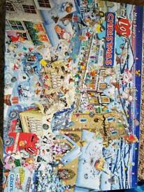 Christmas 1000 piece puzzle