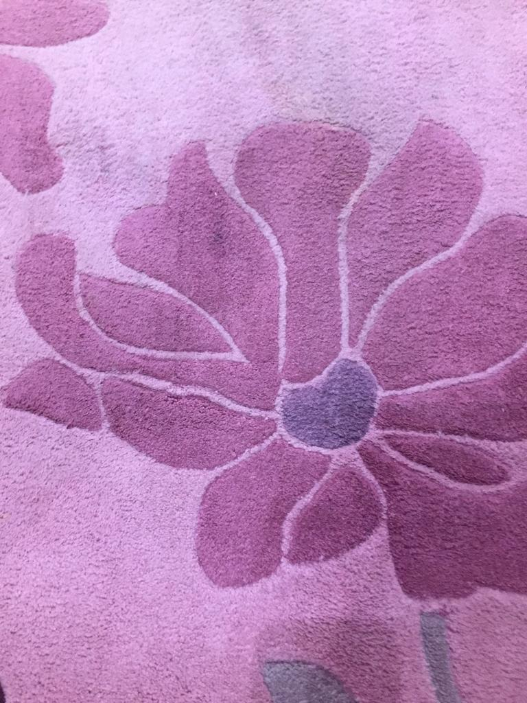 Pink Flower Rug In Chester Le Street County Durham Gumtree