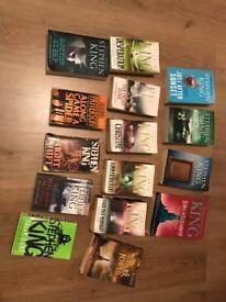 15 Stephen King Books!