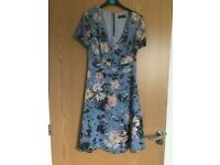 Myleene Klass Floral dress uk 8-10