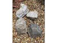 Rockery stones