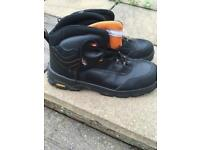 Steel toe cap boots size 13 brand new