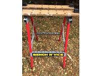 2 in 1 workbench with clamp