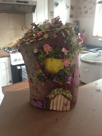 Fairy Log house £20 each